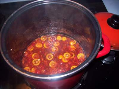 Cherry and Kumquat Jam