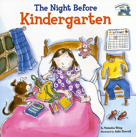 Book Cover for The Night Before Kindergarten